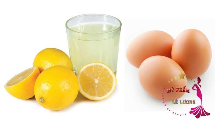 trứng gà nước cốt chanh