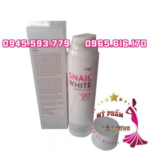 Snail white body lotion spf 90