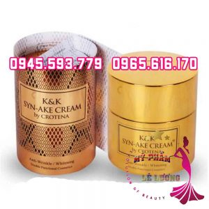 K&k syn ake cream by crotona