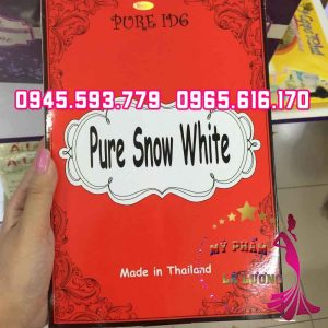 Tắm trắng pure snow white