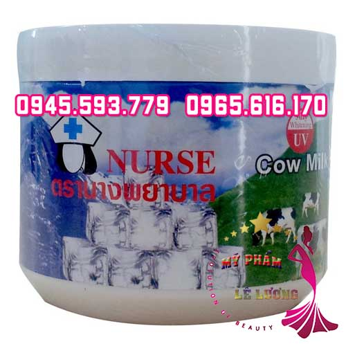Body cream nurse