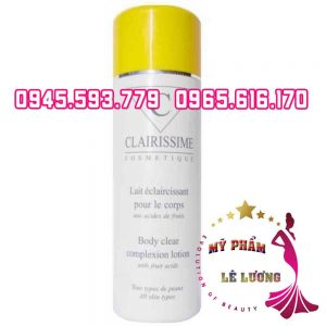 CLAIRISSIME BODY CLEAR COMPLEXION LOTION