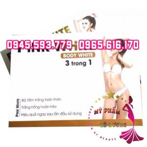 Pink white 3 trong 1 4