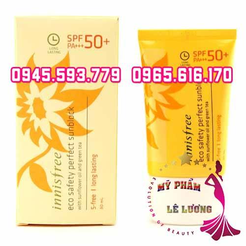 Innisfree eco safety perfect sunblock spf 50 1