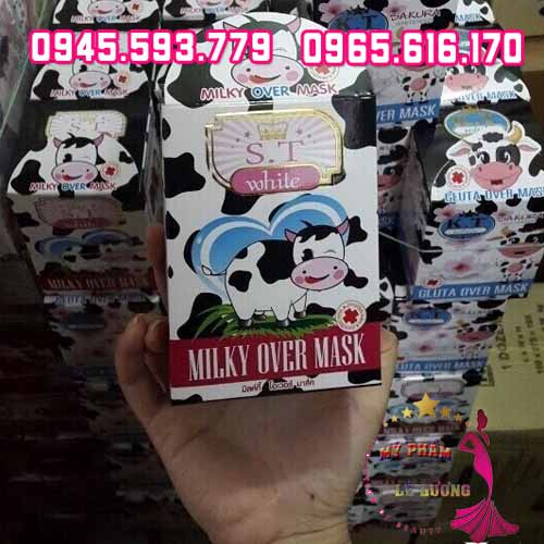 Kem Body Milky Over Mask White ST