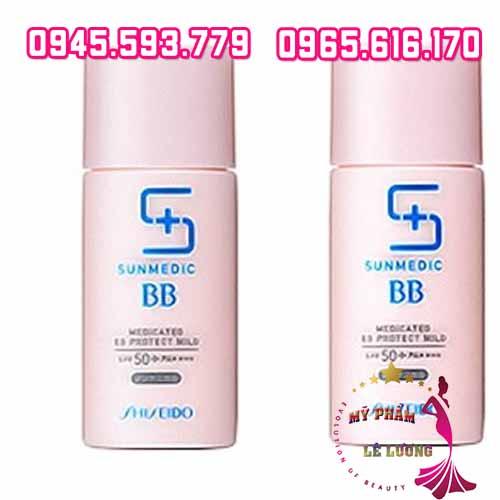 Kem BB Sunmedic Shiseido