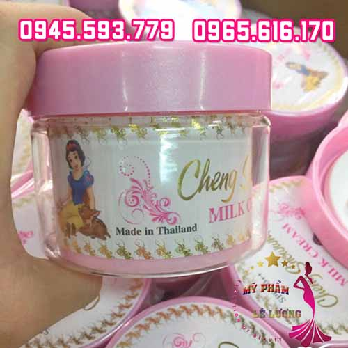 Kem body cheng snow white milk cream-1