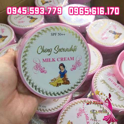 Kem body cheng snow white milk cream-2
