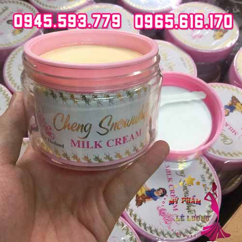 Kem body cheng snow white milk cream-4