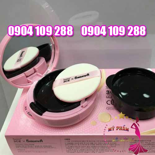 3CE Sasimi Barbapapa cushion BB cream-2