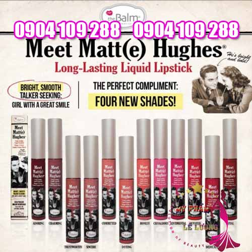 Set son The Balm Meet Matte Hughes dòng mới