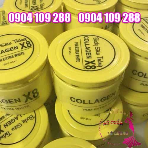 Kem body collagen X8-3