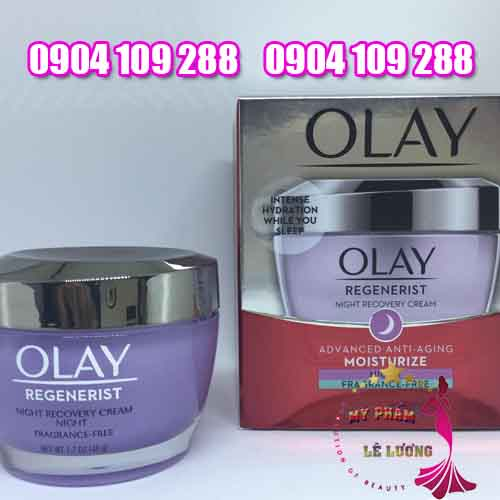 kem olay regenerist night recovery cream-4