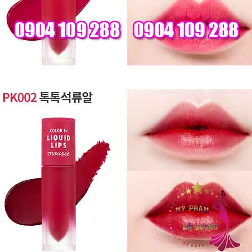 son kem Etude House Color In Liquid Lips Mousse-6