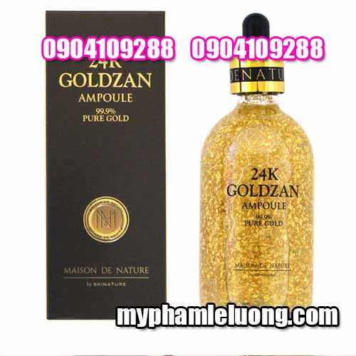 Serum 24k Goldzan Ampoule 99 9% Pure Gold 100ML-3