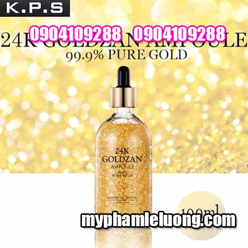 Serum 24k Goldzan Ampoule 999% Pure Gold 100ML-1