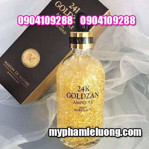 Serum 24k Goldzan Ampoule 999% Pure Gold 100ML-4